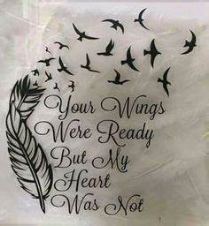 Best 25 Angel Wing Quotes Ideas On Pinterest Memorial Tattoos
