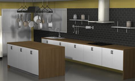 ikea kitchen top cabinets kitchen design ideas an ikea kitchen with fewer wall cabinets