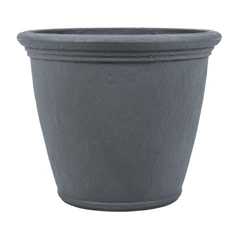 plastic planters home depot stack a pot resin stackable planter rzjmin0 the home depot