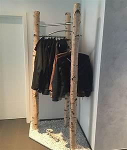 Garderobe Aus Birkenstämmen : birkenst mme f r ihr individuelles wohnambiente garderobe aus gereinigten und getrockneten ~ Yasmunasinghe.com Haus und Dekorationen