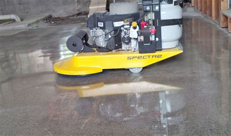 propane powered burnisher buffer spectre by werkmaster