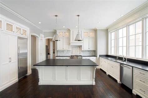 slate countertops traditional kitchen blank  baker