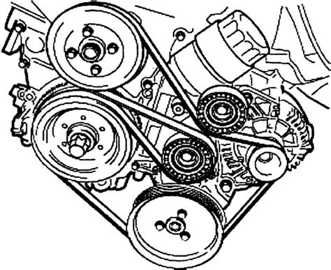 Bmw Diagram For Routing Drive Belt