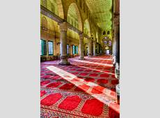 Inside the alAqsa Mosque The alAqsa Mosque 705 CE is