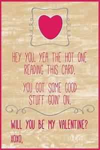 Printable Cute & Funny Valentine's Day Card For by ...