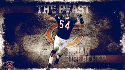 Brian Urlacher Beast Deviantart Wallpapers Bears Chicago