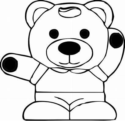 Panda Coloring Pages Teddy Pandas Colouring Clip