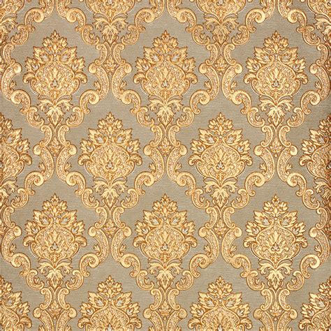 Luxury Wallpaper by 3d Gold Luxury Wallpaper 3d Damascus Mural Wall Paper Roll