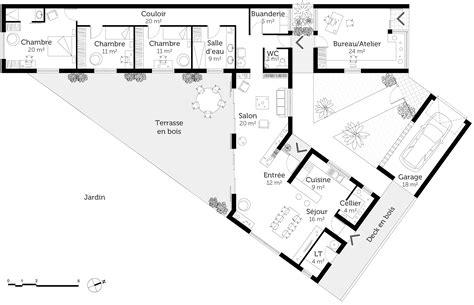 plan maison moderne 5 chambres unique plan maison moderne 5 chambres ravizh com