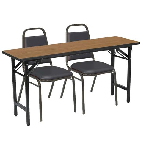 kfi tf2460 im810x2 folding table with two im810