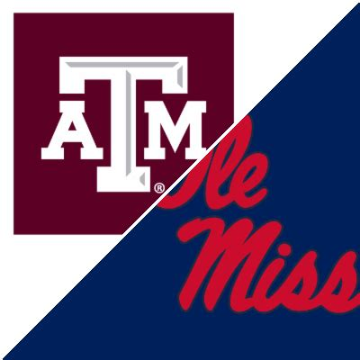 Texas A&M vs. Ole Miss - Game Summary - October 19, 2019 ...