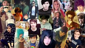 Youtubers Collage by Woah-I-Didnt-Try on DeviantArt