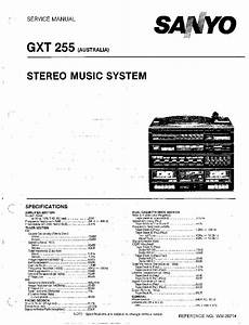 Sanyo Plus P55 Service Manual Free Download  Schematics  Eeprom  Repair Info For Electronics