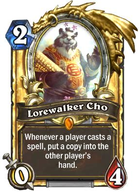 lorewalker cho mage deck world of warcraft races in hearthstone robots aliens dragons