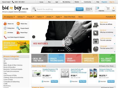 Bid Or Bay 10 Most Visited Websites In South Africa