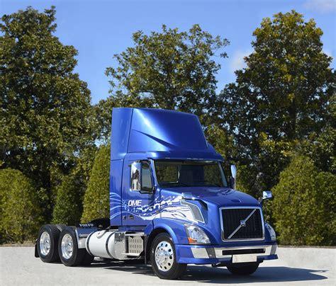 volvo trucks  run  dme  north america