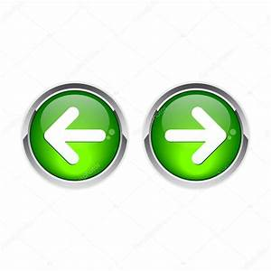 Button On The Next To The Previous Back Stock Vector