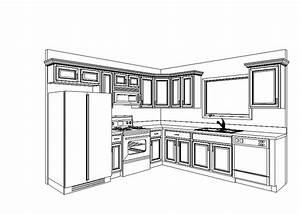 simple kitchen cabinets layout design greenvirals style With kitchendiagram