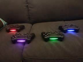 PS4 Controller Light Bar Colors