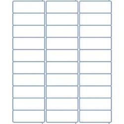 80 Labels Per Sheet Template Address Labels Laser Labels Inkjet Labels 2 625 X 1 30 Per Sheet