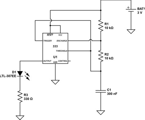 Led Pulse Circuit Electrical Engineering Stack