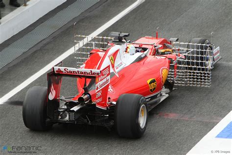 Clou du spectacle, la présence de sebastian vettel. Sebastian Vettel, Ferrari, Circuit de Catalunya, 2016 · RaceFans