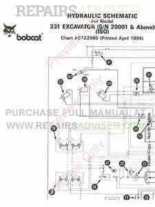 Bobcat Excavator X331 Service Manual Pdf Download