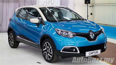 renault malaysia renault captur ckd now on sale in malaysia same spec