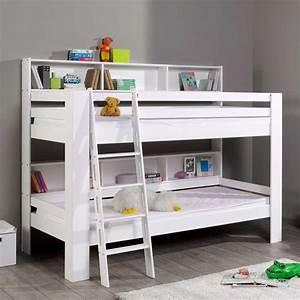 Etagenbett Für Kinder : buche etagenbett coventry in wei mit regal ~ Frokenaadalensverden.com Haus und Dekorationen
