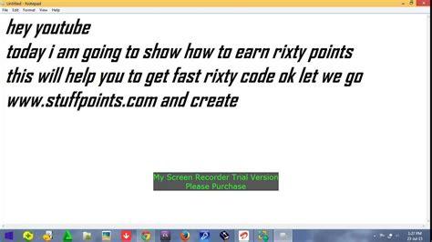 earn  rixty code fast days  dollars