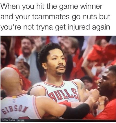 D Rose Memes - d rose is back 20 memes of derrick rose s stone cold grill after his game 3 buzzer beater