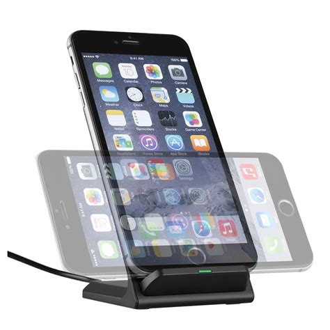 Samsung Lade Led by Qi Led Induktive Ladestation Wireless Charger Charging