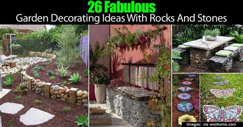 how to use landscape rocks and stones in the garden