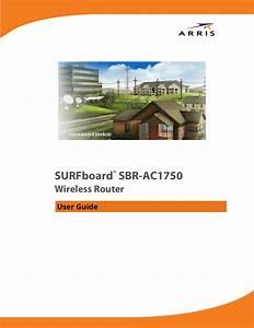 Arris Sbr Ac1750 Wireless Router User Manual Ac1750  Guide