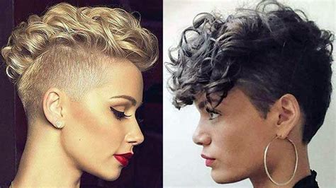 Short Curly Haircuts For Women 2018