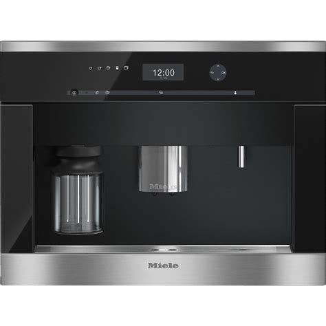 Only with original miele parts can the manufacturer guarantee the safety of the appliance. Miele CVA6401 Built-in coffee machine