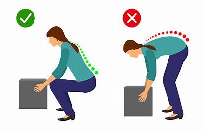 Lifting Pain Lift Lower Heavy Object Posture