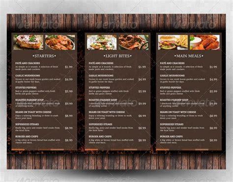 beautiful restaurant menu design templates sample