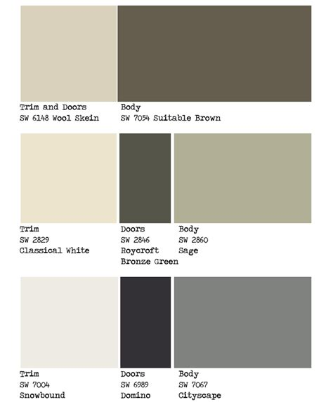 1000 images about paint colors on exterior