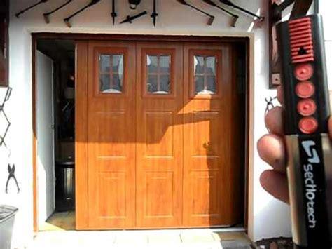 porte de garage laterale porte de garage lat 233 rale pg du nord