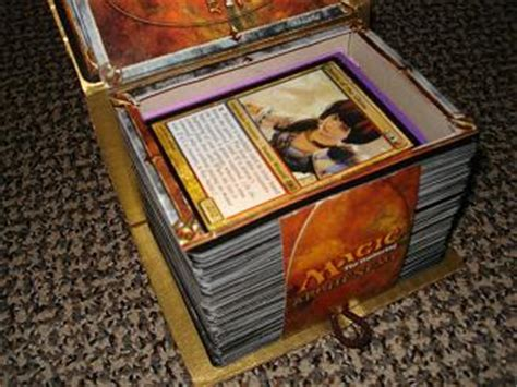 custom spell book deck box artwork creativity community forums mtg salvation forums