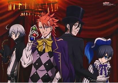 Butler Circus Kuroshitsuji Joker Ciel Phantomhive Snake