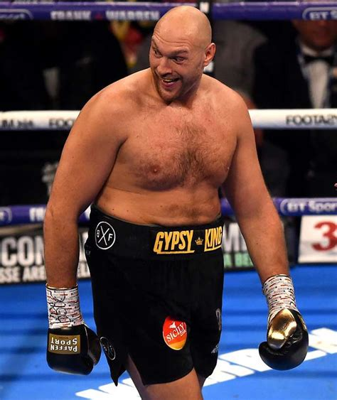 Fury Tyson Heavyweight Champion