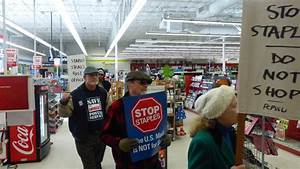 Protesters Storm Staples Store, Demand an End to Postal ...
