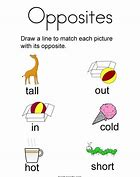 HD Wallpapers Opposites Coloring Pages Preschool Wallpaper Android