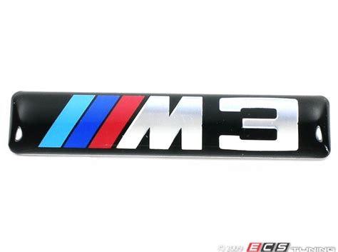 Bmw M3 Logo Decal