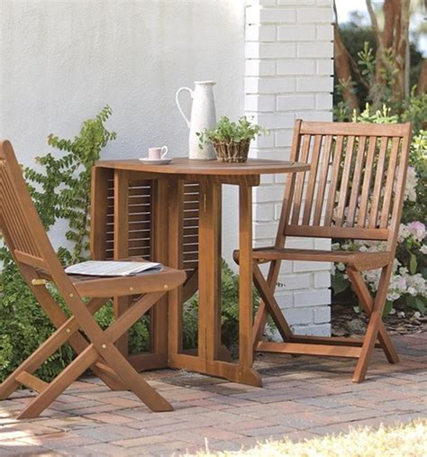top  bistro sets  outdoor small space homemydesign