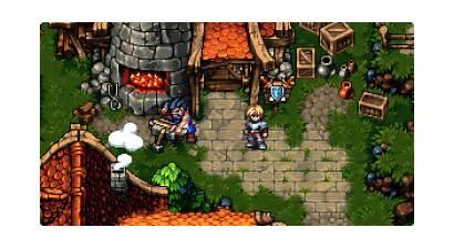 Kingdom Crystal Indie Jrpg Blacksmith Bit Games