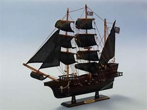 Buy Wooden Blackbeard's Queen Anne's Revenge Model Pirate