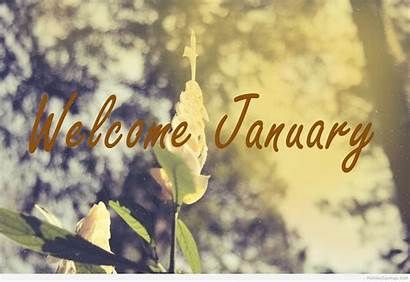 January Welcome Hello Happy Winter Months Signs